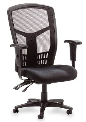 2. Lorell LLR86200Executive High-Back Chair