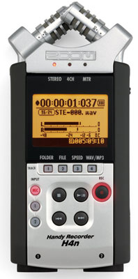 3. Zoom H4N Handy Portable Digital Recorder - 2009 Version