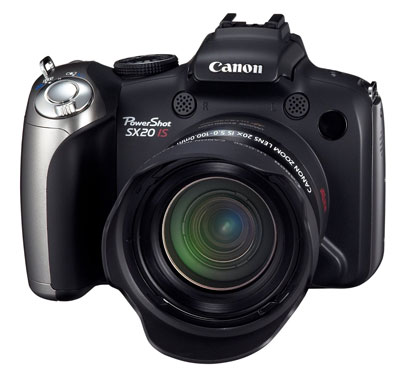 2. Canon PowerShot SX20IS 12.1MP Digital Camera