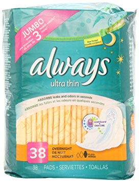 18. Always Always Ultra Thin Pads