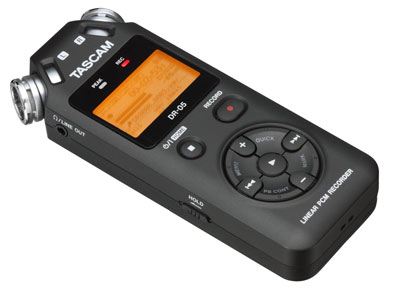 2. ASCAM DR-05 Portable Digital Recorder