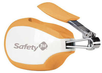 8. Safety 1st Steady Grip Infant Clipper, Colors May Vary