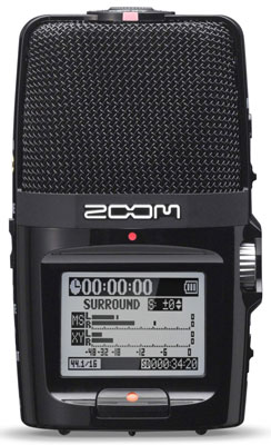 7. Zoom H2n Handy Recorder