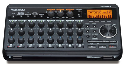 6. TASCAM DP-008EX Digital Portastudio 8