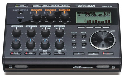 8. TASCAM DP-006 Digital Portastudio 6