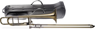 2. Levante LV-TB5415 Bb/F Professional Tenor Slide Trombone with Case
