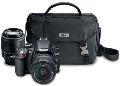 1. Nikon D3200 24.2 MP CMOS Digital SLR Camera