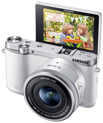 9. Samsung NX3000 Wireless Smart 20.3MP Mirrorless Digital Camera