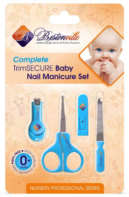 1. #1 Baby Nail Clippers Set with Scissors