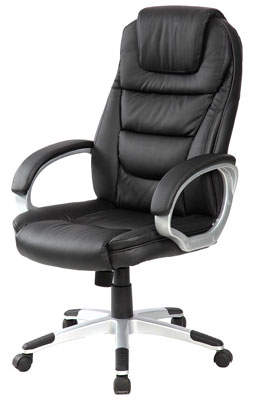 8. Merax Pu Leather Black Executive Office Chair