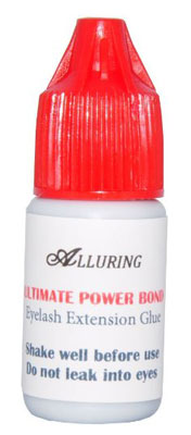 8. ALLURING Ultimate Power Bond Glue Eyelash Extension 3ml -Fast & Strongest