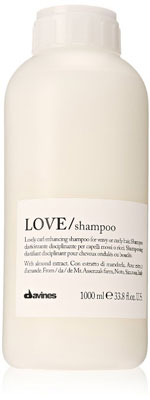 9. Davines Love Lovely Curl Enhancing Shampoo for Wavy and Curly Hair, 33.8 Ounce