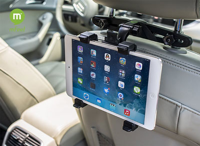 8. Universal Car Back Seat Headrest Mount Holder, Top 10 Best Tablet Car Headrest Mount Reviews
