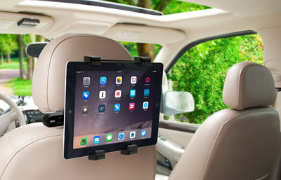 6. Okra Headrest Car Seat mount
