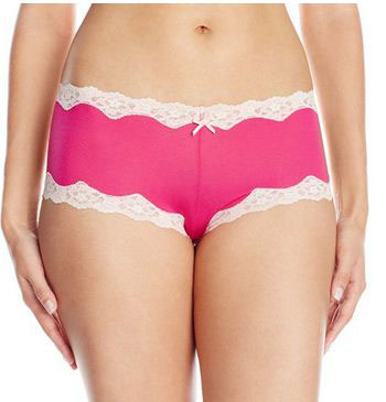 19. Maidenform Women's Modal Cheeky Hipster With Lace Panty
