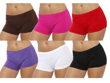18. GILBIN'S Women Seamless Stretch Boy Shorts Panties Various Styles