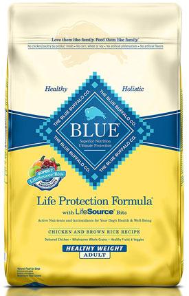 7. Blue Buffalo Life Protection Dry Adult Dog Food