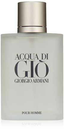 3. Acqua Di Gio By Giorgio Armani For Men. Eau De Toilette Spray 3.4 Ounces