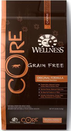 8. Wellness Core Natural Grain Free Dry Dog Food