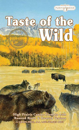 1.Taste of the Wild Dry Dog Food