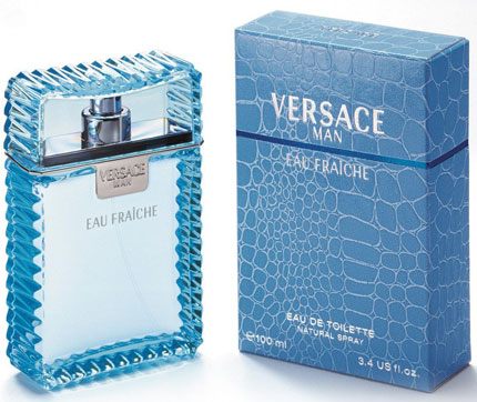 6. Versace Man Eau Fraiche By Gianni Versace For Men Edt Spray 3.4 Oz