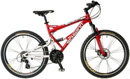 8. Schwinn Protocol 1.0 Dual-Suspension Mountain Bike: