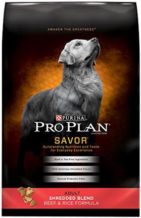 5. Purina Pro Plan Savor Dry Dog Food
