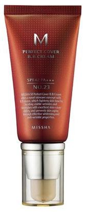 6. MISSHA M Perfect Cover BB Cream No.23 Natural Beige SPF42 PA+++ (50ml)