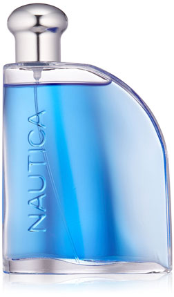 4. Nautica Blue Eau De Toilette Spray for Men, 3.4 fluid ounces