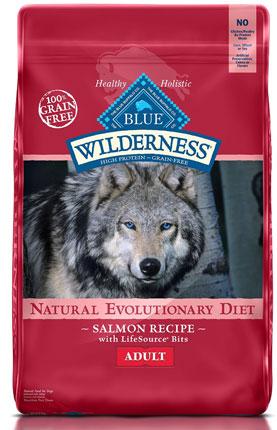 2. Wilderness Blue Buffalo High Protein Dry Adult Dog Food