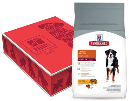 3. Hill's Science Diet Large Breed Dog Food