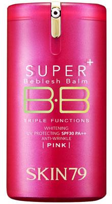8. Skin79 Super+ Beblesh Balm Bb Cream Triple Function ( Pink Label ) 40g Spf30 Pa++