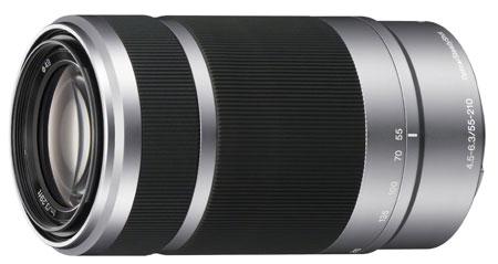 7. Sony E 55-210mm F4.5-6.3 Lens