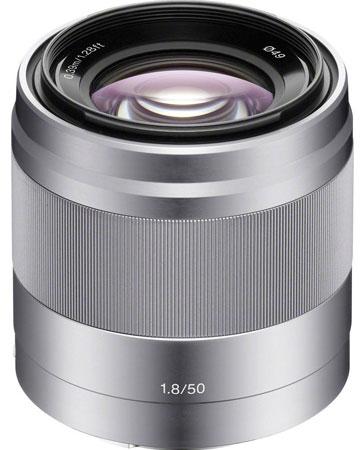 2. Sony 50mm f/1.8 Mid-Range Lens