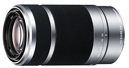 9. Sony E 55-210mm Lens