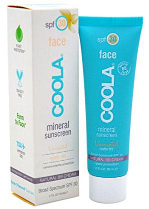 4. Coola Suncare Mineral SPF 30 Sunscreen Matte Tint
