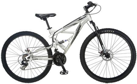 7. Mongoose Impasse Dual Full Suspension Mountain Bike: