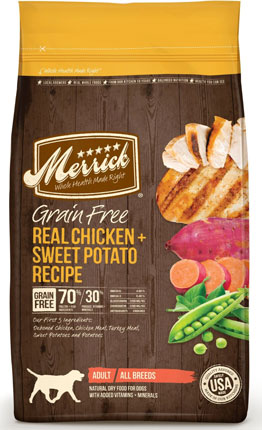 4. Merrick Grain Free Recipe Dry Dog Food