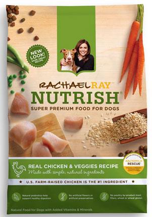 6. Rachel Ray Nutrish Natural Dry Dog Food
