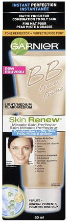 1. SkinActive Miracle Skin BB Cream Oily/Combo