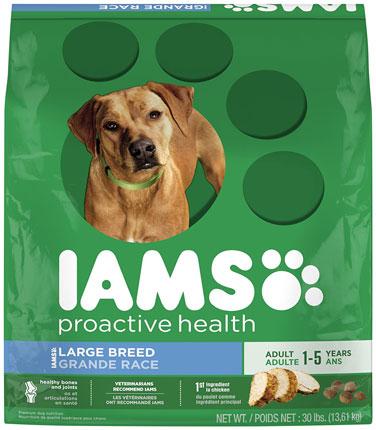 9. Iams Proactive Health Adult Dry Dog Food