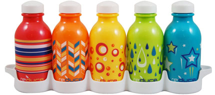 6. Reduce WaterWeek Kids 5 bottle set (10oz)