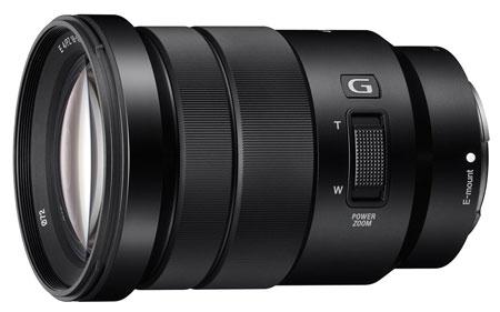 6. Sony SELP18105G E PZ Lens