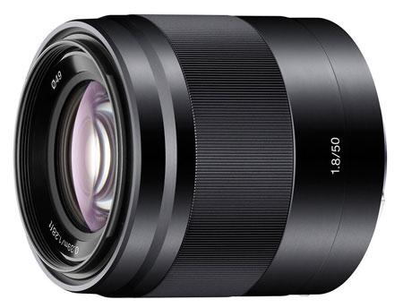 1. Sony SEL50F18 Lens
