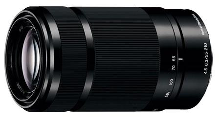 3. Sony E 55-210mm F4.5-6.3 Lens
