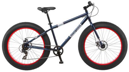 1. Mongoose Dolomite Fat Boys Tire Cruiser Bike: