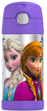 5. Thermos Funtainer 12 Ounce Bottle (Frozen Purple)