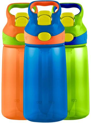 10. Contigo AUTOSPOUT Kids Striker Water Bottle 3-pack (14oz)