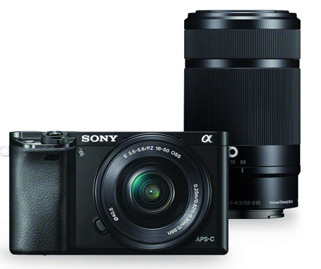 8. Sony Alpha a6000 Mirrorless Camera