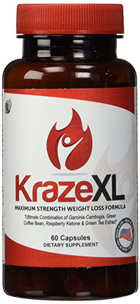 2. KrazeXL Fat Burner